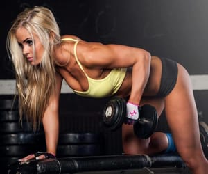 Chica, fitness, and girl image