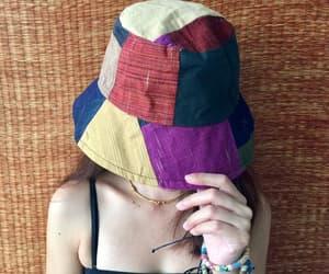 bohemian, patchwork, and vegan image