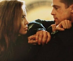 Angelina Jolie, brad pitt, and love image