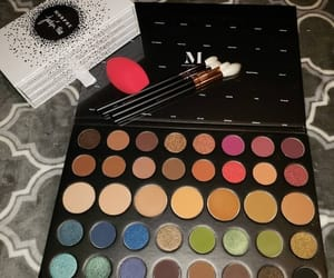 make up, eyeshadow palette, and morphe image