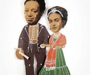 Diego Rivera, frida kahlo, and illustration image