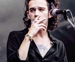 the 1975, matty healy, and boy image