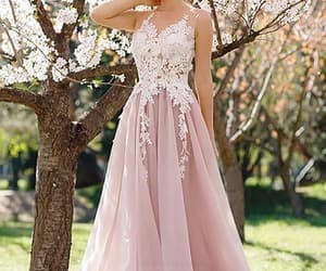 plus size prom dress, modest prom dress, and cheap prom dress image