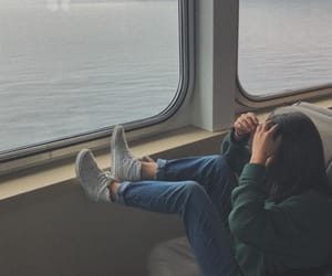 aesthetic, ferry, and mom image