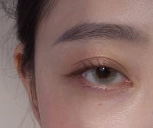 asian, hazel, and reference image