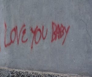 love, grunge, and baby image