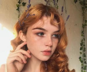 beautiful, redhead, and hazelle image
