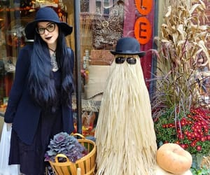 autumn, goth, and style image