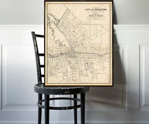 etsy, vintage map, and old map image