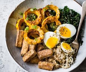 egg, tofu, and rice vinegar image