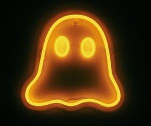 Halloween and neon image