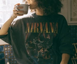 coffe, nirvana, and style image