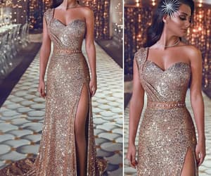classy, dress, and sparkling image