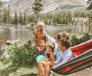 family, fun, and hammock image
