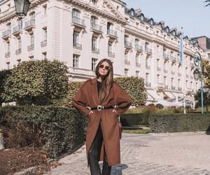 coat, fashion, and paris image