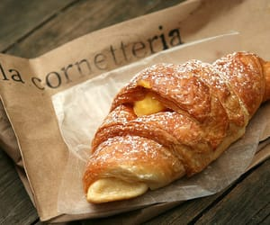 food, croissant, and breakfast image