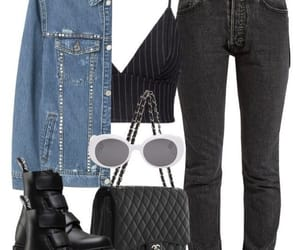 fashion, outfit, and bags image