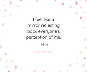 be yourself, mia, and perception image