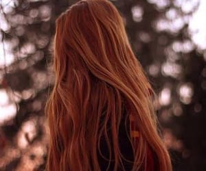 hair, red, and ginger image