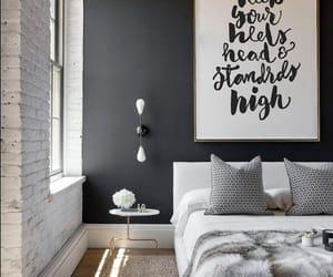 interior design, bedroom ideas, and bedroom decorating image