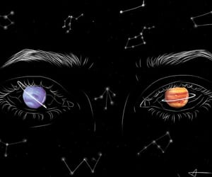 aesthetic, constellation, and draw image