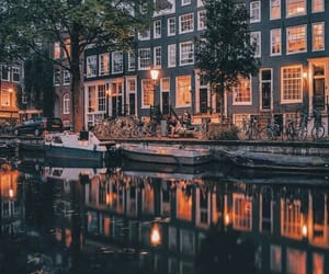 amsterdam, architecture, and colors image