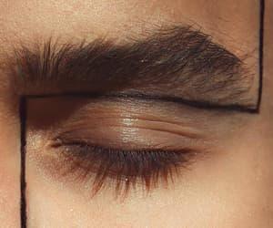eye, makeup, and aesthetic image