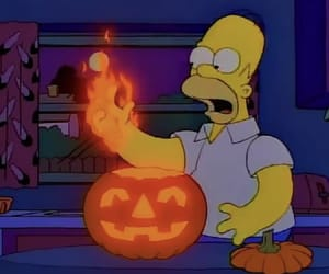 dangerous, fire, and Halloween image
