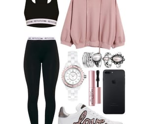 clothes, fashion, and gym image