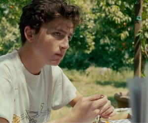 call me by your name, timothee chalamet, and Hot image