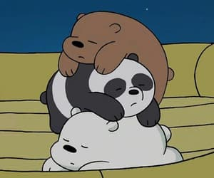 bear, best friend, and dormire image