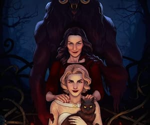 fanart, show, and sabrina spellman image