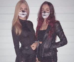 calavera, costume, and esqueleto image