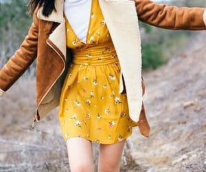 autumn, dress, and fashion image