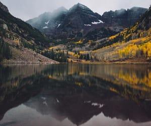 autumn, trip, and lake image