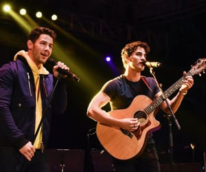 nick jonas, darren criss, and criss colfer image