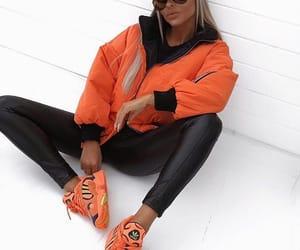 adidas, blonde, and jacket image