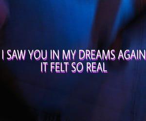 Dream, love, and sad image