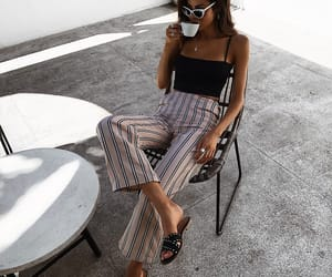 fashion, black, and coffee image