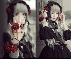 beautiful, cool, and gothic lolita image