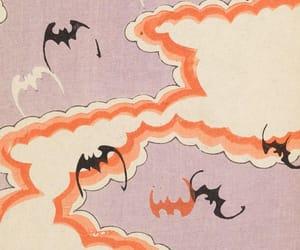 art, bats, and Halloween image