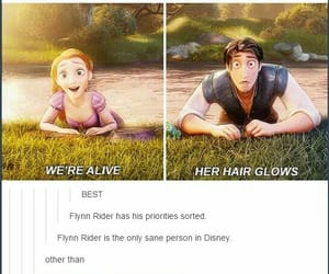 disney, enchanted, and flynn rider image
