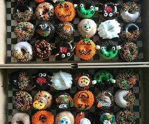autumn, chocolate, and donuts image