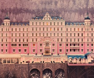 pink, pastel, and wes anderson image