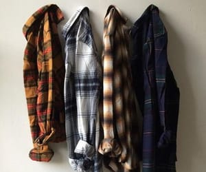 plaid, clothes, and flannels image