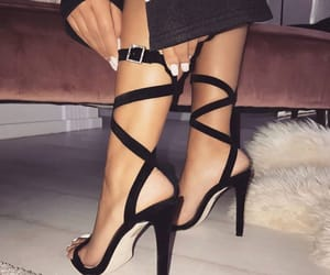 fashion, high heels, and glam image