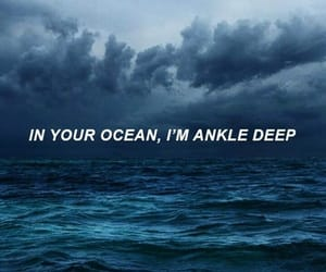 ocean, wallpaper, and blue image