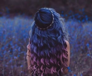 cheveux, ciel, and coiffure image