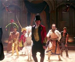 circus, showman, and gif image