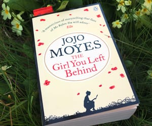 book, the girl you left behind, and jojo moyes image
